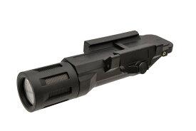 CL製 LED 20mmレイル ウェポンライト フラッシュライト 高輝度 500ルーメン 黒 CL15-0092