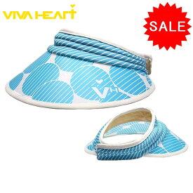 【20%OFF!セール】ビバハート / VIVA HEART (春夏モデル!)セルBigバイザー(レディース)ビバハート/ゴルフウェア