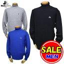 【50%OFF!セール】ブラック&ホワイト / ブラック アンド ホワイト/秋冬モデル!タートルネックセーター(メンズ)ゴ…