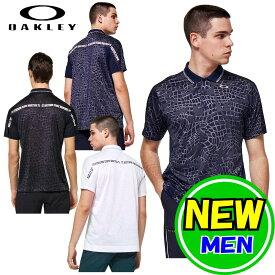 【30%OFF!セール】オークリー / OAKLEY 2021春夏新作!Oakley Across JQ Polo / ポロシャツ スポーツ ゴルフウェア 半袖シャツ /メンズ