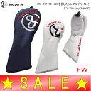 【30%OFF!セール】アンパスィ/and per se(春夏モデル!)ヘッドカバー/フェアウェイウッド用(メンズ)ゴルフウェア/17/