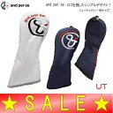 【30%OFF!セール】アンパスィ/and per se(春夏モデル!)ヘッドカバー/ユーティリティー用(メンズ)ゴルフウェア/17/