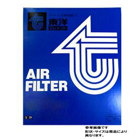 東洋エレメント エアフィルター ダイハツ マックス 型式L950S/L960S用 TO-9737F TOYO エアーフィルタ エアクリーナーエレメント エアクリーナーフィルター エアエレメント エアーエレメント 17801-97204-000 17801-87219-000対応 おすすめメーカー