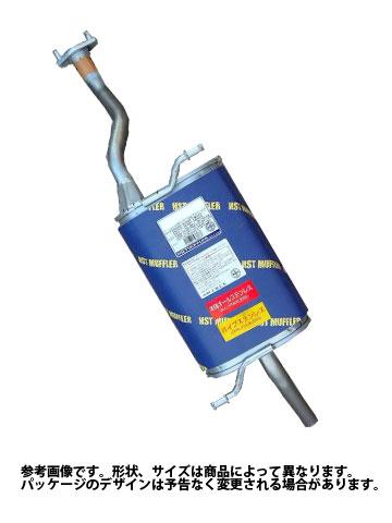 リアマフラー ダイハツ オプティ 型式L800S用 HST辻鉄工所 055-148