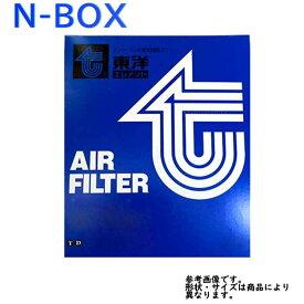 東洋エレメント エアフィルター ホンダ N-BOX 型式JF1/JF2用 TO-3741V TOYO エアーフィルタ エアクリーナーエレメント エアクリーナーフィルター エアエレメント エアーエレメント 17220-5Z1-003対応 おすすめメーカー エアーフィルター エンジン