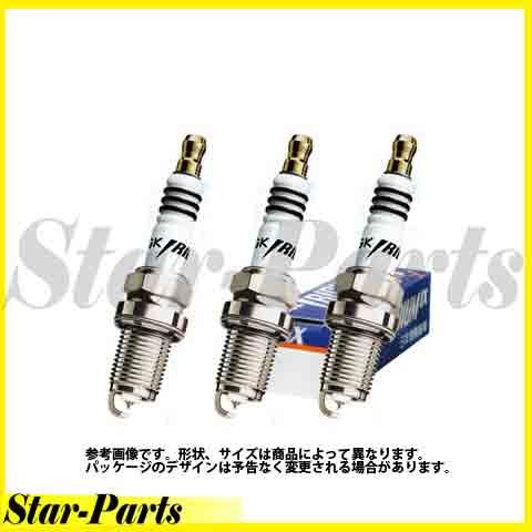 イリジウムIXプラグ ピクシススペース L575A L585A エンジン KF 用 LKR7AIX 3本セット 日本特殊陶業 NGK エヌジーケー