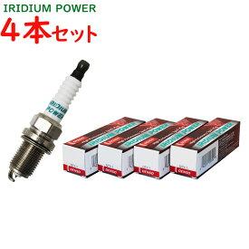 デンソー イリジウムパワープラグ トヨタ ファンカーゴ 型式NCP21/NCP25用 IK16(V91105303) 4本セット | DENSO イリジウムプラグ 点火プラグ スパークプラグ パワープラグ ゆうパケット