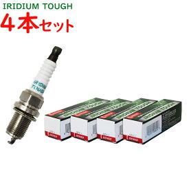 デンソー イリジウムタフプラグ スズキ スイフト 型式ZC72S用 VXU20(V91105649) 4本セット | DENSO イリジウムプラグ 点火プラグ スパークプラグ タフプラグ ゆうパケット