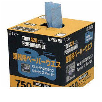 STトーク420 1ロールBOX エステートレーディング | 車用アクセサリー シートカバー 車用ステッカー カー用品 中古車用 車用品 ウエス