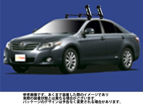 【送料無料】 システムキャリア トヨタ カムリ 型式 ACV40 ACV45 用 | タフレック スキー スノーボード アタッチメント SS0 斜積み