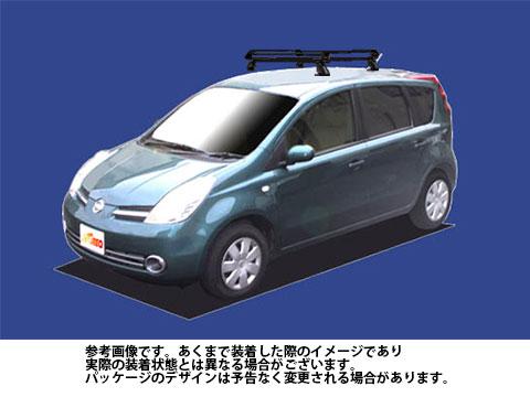 【送料無料】 ルーフキャリア 日産 ノート 型式 E11 用 | タフレック ルーフキャリア Pシリーズ PE22A1