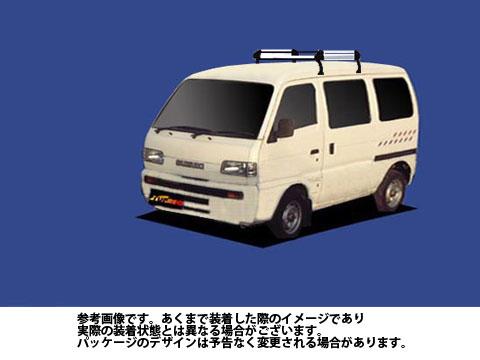 【送料無料】 ルーフキャリア スズキ キャリィ 型式 DE51V 用 | タフレック ルーフキャリア Hシリーズ HL22
