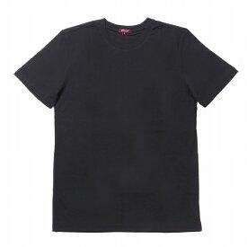 """シティラブ 半袖 ショートスリーブ クルーネックTシャツ プレーン 無地 ブラック """"City Lab PREMIUM T-shirt (Crew) Black"""""""