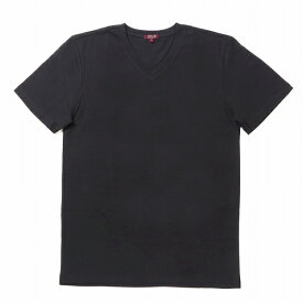 """シティラブ 半袖 ショートスリーブ VネックTシャツ プレーン 無地 ブラック """"City Lab PREMIUM T-shirt (V) Black"""""""