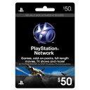 新品PS4/PS3/PSV/PSPパーツ PLAYSTATION Network Card $50 / プレイステーションネットワークカード $50 【海外北米...