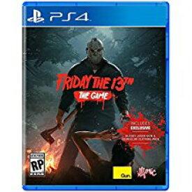 新品PS4 Friday The 13th The Game / フライデー ザ サーティーン ザ・ゲーム(13日の金曜日) 【海外北米版】