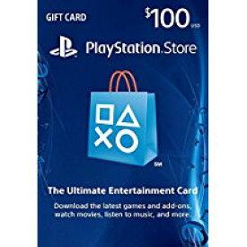 新品PS4/PS3/PSV/PSPパーツ PLAYSTATION Network Card $100 / プレイステーションネットワークカード $100 【海外北米版】
