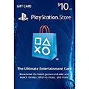 新品PS4/PS3/PSV/PSPパーツ PLAYSTATION Network Card $10 / プレイステーションネットワークカード $10 【海外北米版】