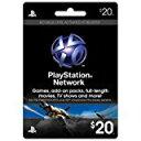 新品PS4/PS3/PSV/PSPパーツ PLAYSTATION Network Card $20 / プレイステーションネットワークカード $20 【海外北米...