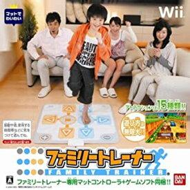 【中古】Wii ファミリートレーナー ソフト単品