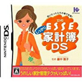 【中古】NDS ESSE しっかり家計簿DS