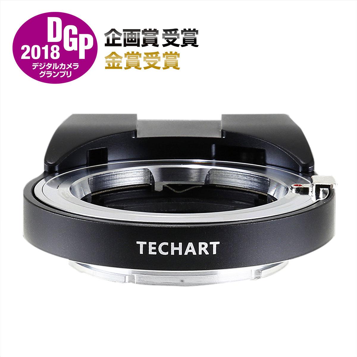 マウントアダプター TECHART LM-EA7 ライカMマウントレンズ - ソニーα.Eマウント電子カメラ