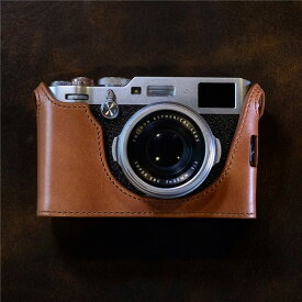 cam-in (カムイン) カメラケース 富士フィルム FUJIFILM X100F用 イタリアンレザー LCP-001