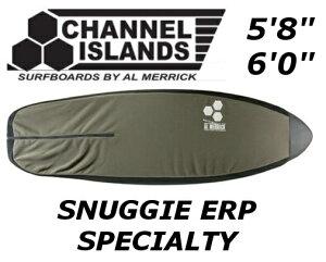 CHANNEL ISLANDS SNUGGIE ERP SPECIALTY チャンネルアイランド ショートボード フリースケース ソフトケース ニットケース AL MERRICK アル・メリック フィッシュ レトロ