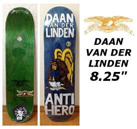 Anti Hero 8.25x32 DAAN VAN DER LINDEN アンタイヒーロー アンチヒーロー ダーン ヴァン ダー リンデン スケートボード デッキ