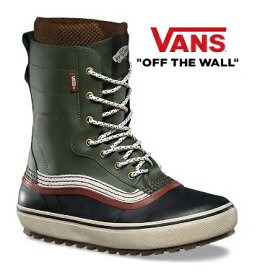 ★VANS Remedy Green/Sable VN0A3DINNZY バンズ Winter Boots SNOW SHOES ウィンターブーツ スノー メンズ