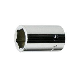 "1/2""(12.7mm) スタンダードソケット 15mm 永久保証 STRAIGHT/10-3515 (FLAG/フラッグ)"