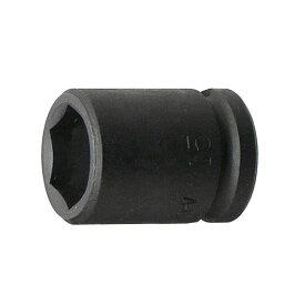 """3/8""""(9.5mm) インパクトソケット 15mm 永久保証 STRAIGHT/10-715 (FLAG/フラッグ)"""