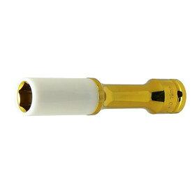 """1/2""""(12.7mm) インパクトエクステンションソケット 19mm プロテクトタイプ STRAIGHT/10-7519 (STRAIGHT/ストレート)"""