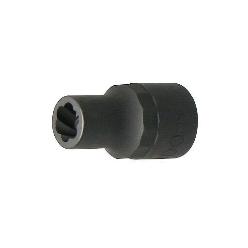 """トルネードソケット 8mm 差込角3/8""""(9.5mm) STRAIGHT/10-98083 (STRAIGHT/ストレート)"""