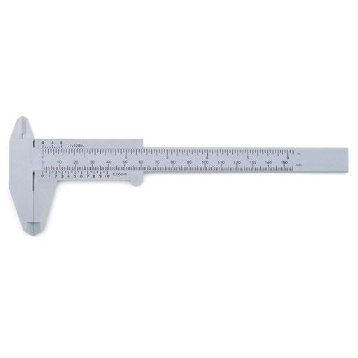 プラスチックノギス 150mm STRAIGHT/16-1119 (STRAIGHT/ストレート)