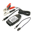 OBD2メモリーバックアップ 9V電池/12Vバッテリー接続用 STRAIGHT/17-581 (STRAIGHT/ストレート)