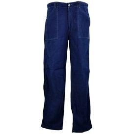 メンズ 藍染め ファティーグパンツ アーミースタイル Mサイズ 敬老の日