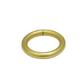 真鍮 丸カン 内径15mm キーホルダーパーツ