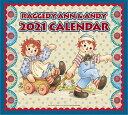 【 2021年 ラガディ 予約 】 アン&アンディアン アンディカレンダーラガディ・壁掛け おしゃれキャラクター かわいい