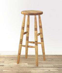 【ハイスツール 塗装済】 カントリー雑貨・カントリー家具アメリカン・フレンチ・手作りかわいい・可愛い・踏み台いす・椅子・子供の椅子ステップ・ナチュラル