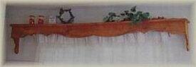 【カーテンボックス】カントリー雑貨・カントリー家具カーテン・ボックス手作り・カーテンレールカーテンレール隠す