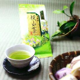 【深蒸し茶】 八十八夜摘み煎茶を深蒸しにしました。まったりとした旨みと美しいグリーンが印象的です。