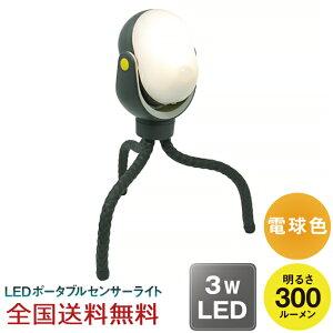 【全国】どこでもセンサーライト 300 LED