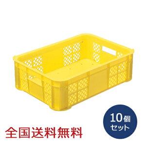 【全国】採集用コンテナ 10個セット 採集かご コンテナボックス バスケット収穫
