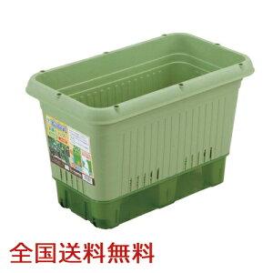 【全国】給水式菜園プランタ−650型(コロ付) 家庭菜園 菜園コンテナ 野菜栽培