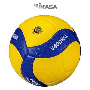 ミカサ 小学生バレーボール 検定球4号軽量 V400WL MIKASA バレーボール4号球 -BO-