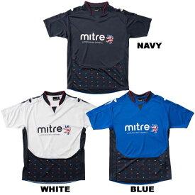 シャツ ジュニア マイター Tシャツ プラシャツ サッカー フットサル 01 MI16S17JR miter -メール便01-