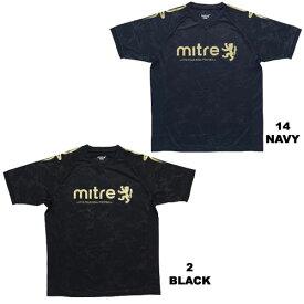 シャツ 半袖 マイター Tシャツ エンボス プラクティスシャツ サッカー フットサル MI17S14 miter -メール便01-