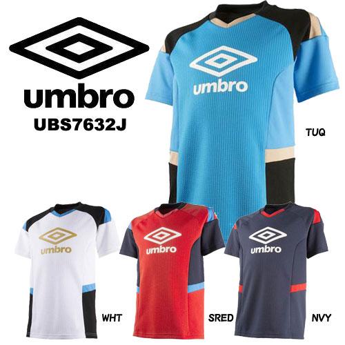 スポーツ ウェア Tシャツ ジュニア アンブロ プラシャツ サッカー フットサル UBS7632J mbro