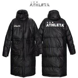 コート アウター アスレタ ベンチコート 中綿 スポーツ ウェア 04129 ATHLETA